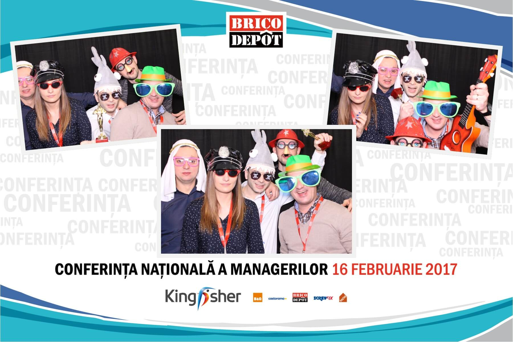 Photo booth petrecere firma